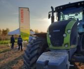 Демо-показ трактора CLAAS AXION 930