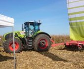 Демо-показ трактора CLAAS AXION 950 с HORSCH Tiger 4 MT