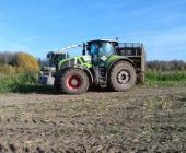 Демо-показ трактора CLAAS AXION 950