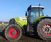 Демо-показ трактора CLAAS AXION 850
