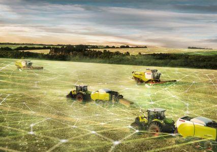 500 комбайнов и тракторов CLAAS будут подкл...